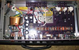 Leiterplatte im BUDDA amp