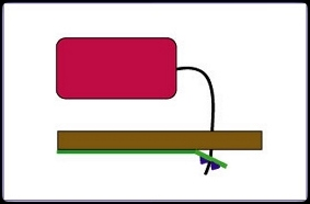 Leiterplatte defekt