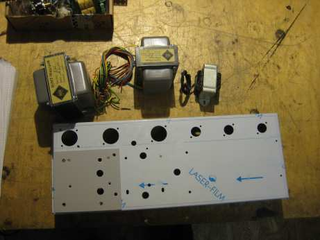 chassis mit Blech JTM45