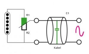 Tonabnehmer - Volumepoti - Kabel
