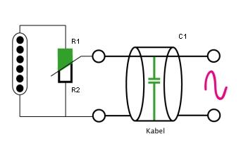 Tonabnehmer - Volumepot - Kabel