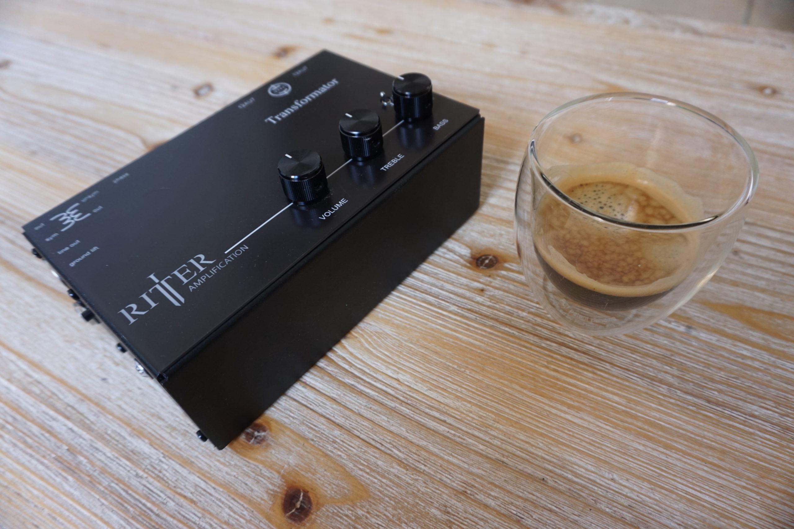 Transformator Größe Kaffeetasse