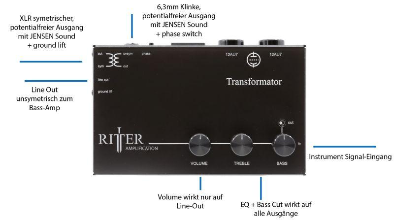 Transformator Anschlußschema